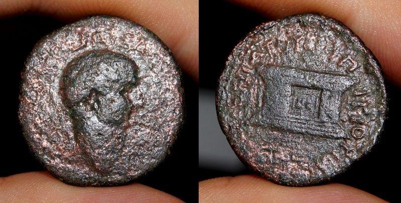 Provinciale à l'autel, Vespasien ? Vespas11