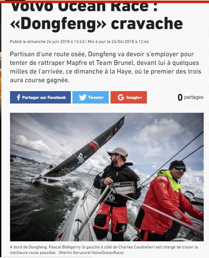 [ Marine à voile ] Volvo Ocean Race 11ème et dernière étape Arrivz11