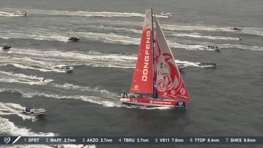 [ Marine à voile ] Volvo Ocean Race 11ème et dernière étape Arrivz13