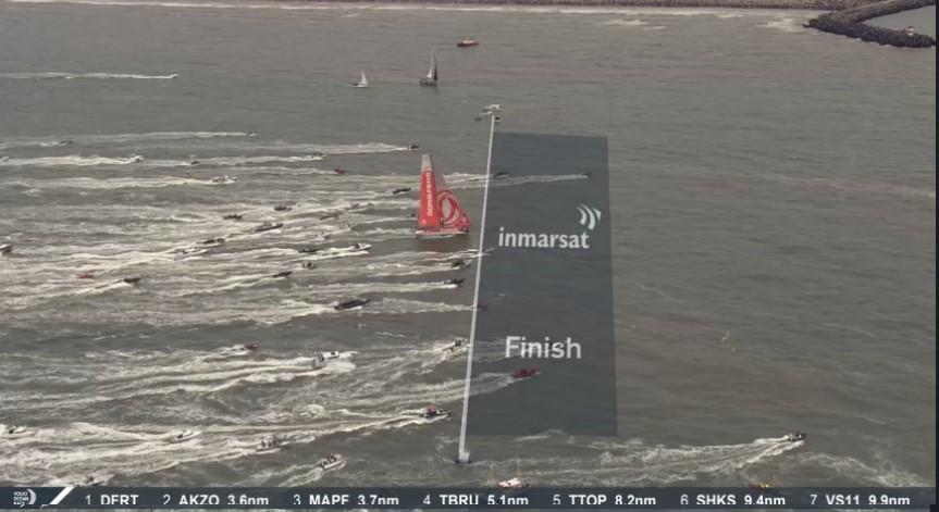 [ Marine à voile ] Volvo Ocean Race 11ème et dernière étape Ligne_10