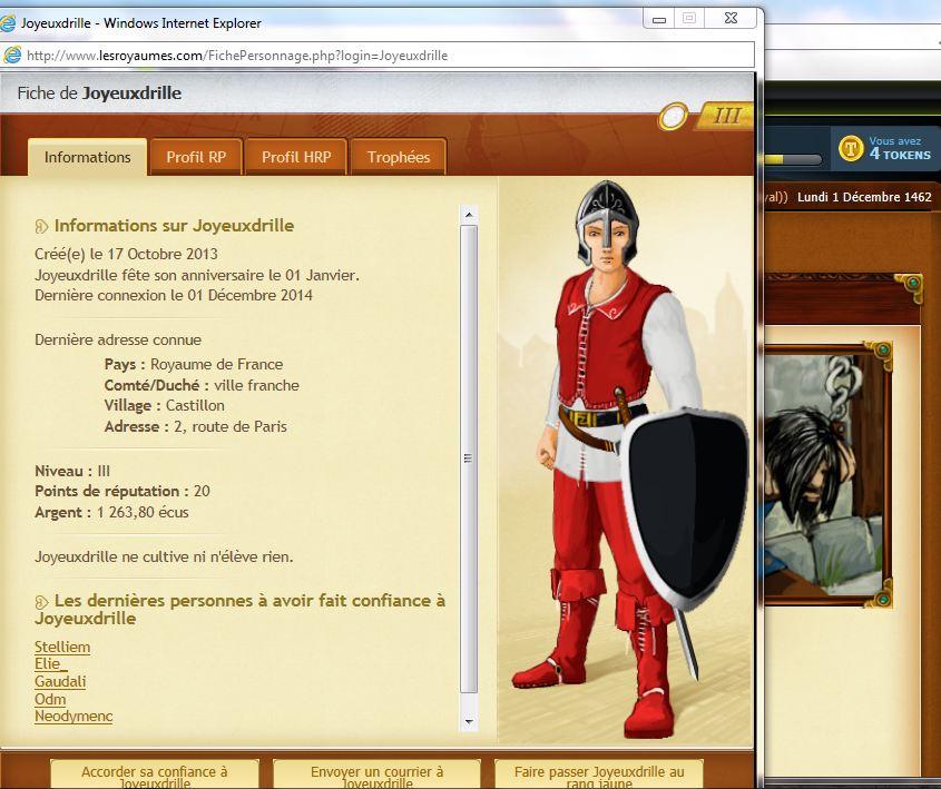 Joyeuxdrille, TOP (brigandage, victime Minounette, 5/11/1462)  coupable Joyeux10