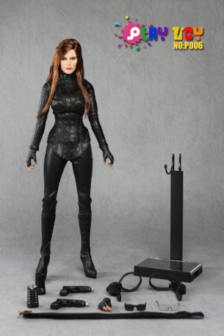 PLAY TOY P006 1/6 Female Intelligence Agent Figure – Baroness 15_08010