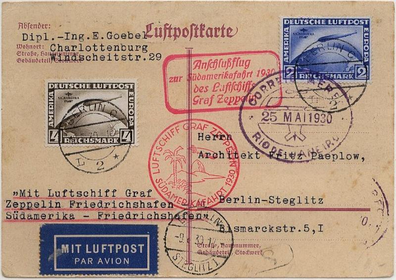 nach - Südamerikafahrt 1930, Post nach Rio de Janeiro - Seite 3 57_t_k10