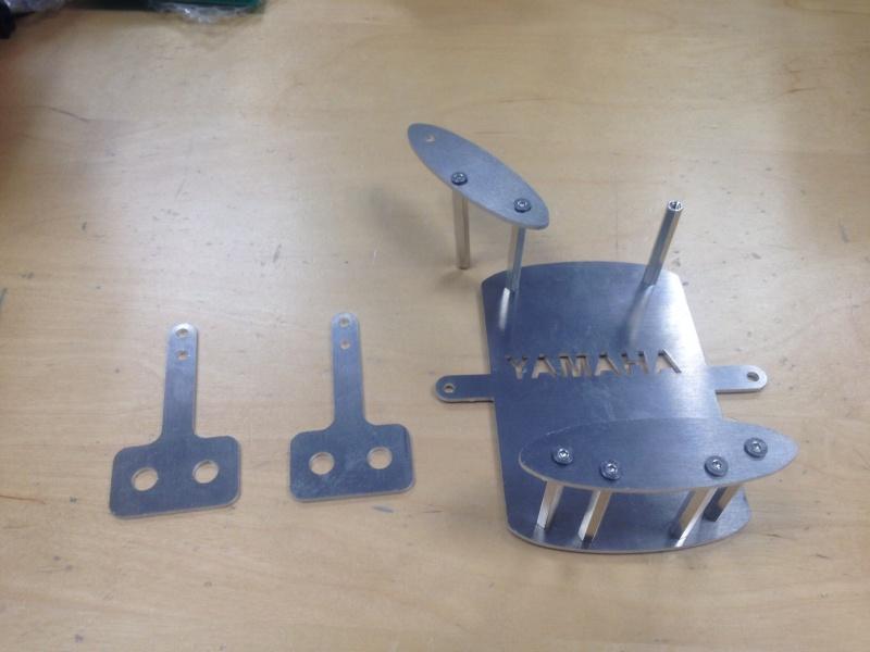 Fabrication support GPS en alu Image14