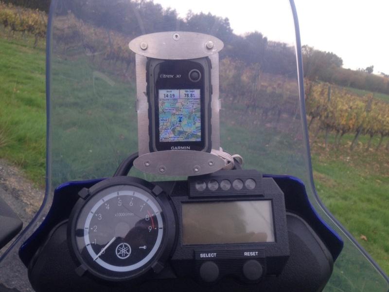 Fabrication support GPS en alu Image20
