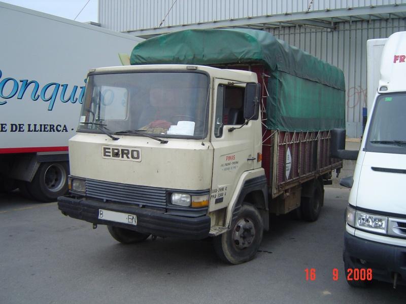Camión Ebro matrícula B-xxxx-EN. Foto del 2008. Dsc01210