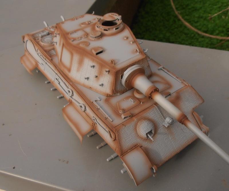 Tigre II ( tamiya/ E.T/ atak au 1/35eme ) - Page 2 Pb240610