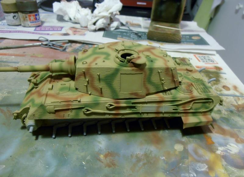 Tigre II ( tamiya/ E.T/ atak au 1/35eme ) - Page 2 Pb240616