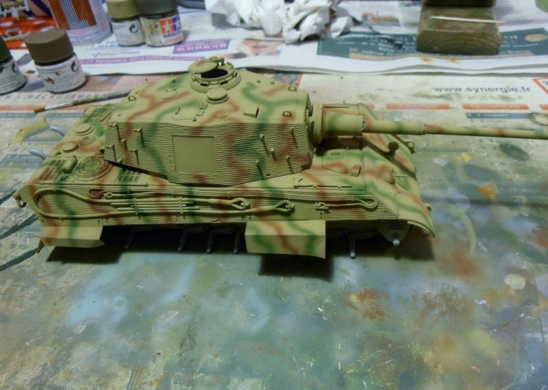 Tigre II ( tamiya/ E.T/ atak au 1/35eme ) - Page 2 Pb240617