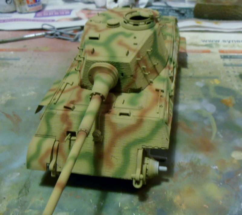 Tigre II ( tamiya/ E.T/ atak au 1/35eme ) - Page 2 Pb240618