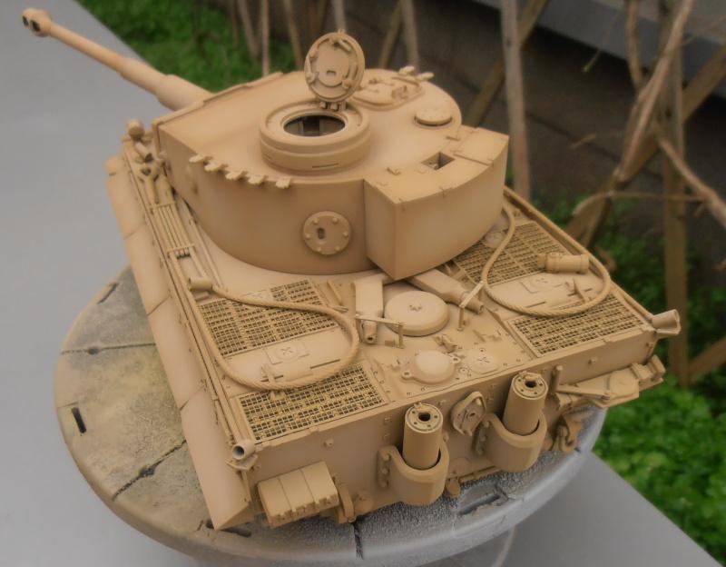 Tiger I ( tamiya 1/35 eme ) Pb300615