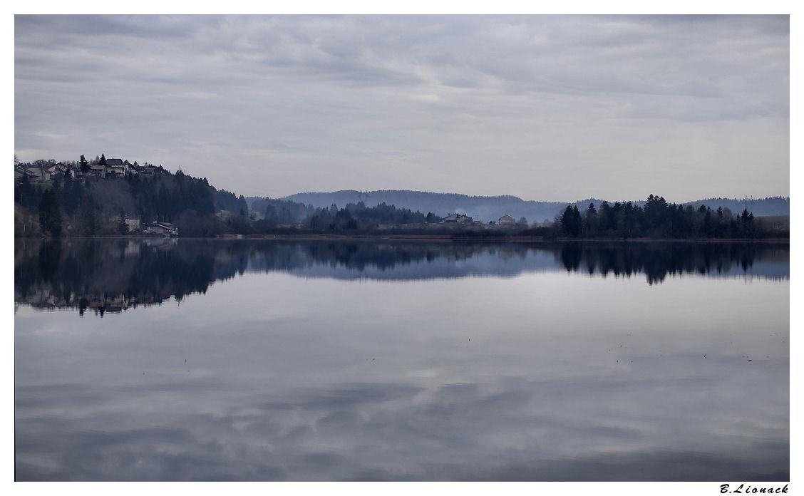 Lac de l'Abbaye au petit matin Lac10