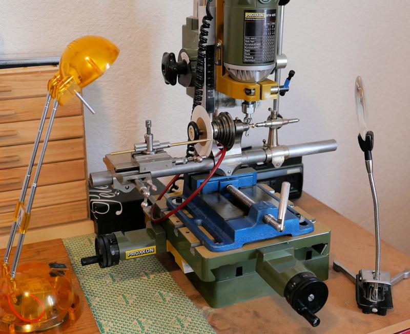 Fabrication d'une roue de chronographe à 140 dents. 0310