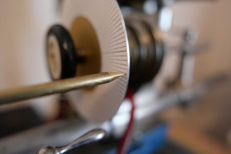 Fabrication d'une roue de chronographe à 140 dents. 0410