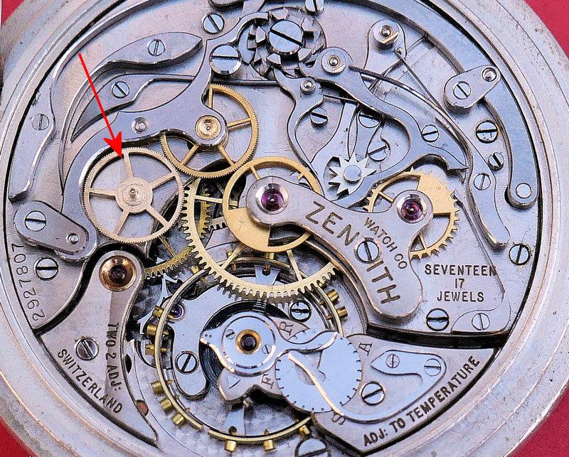 Fabrication d'une roue de chronographe à 140 dents. 0610