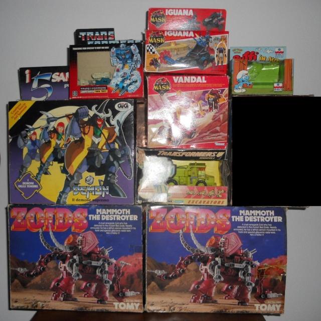 Cerco Harlock e lo scambio con Mask, Transformers, Zoids e Puffi Dscn4310