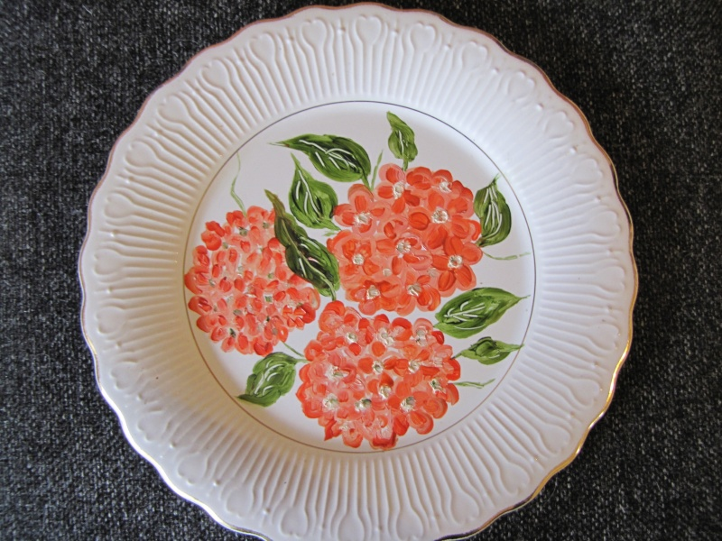 plate - A little treasure picked up today D834 Photo Frame Roundp12