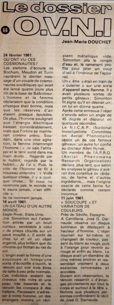 Dossier Ovni - 24 Février 1961 110
