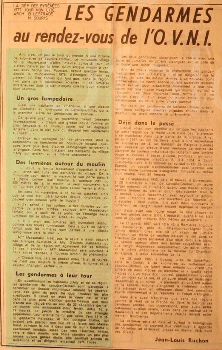 1977 - Les gendarmes et l'OVNI 111