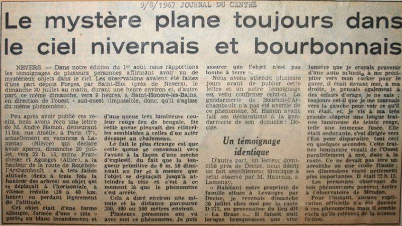 Journal du Centre - 9 Aout 1967 410
