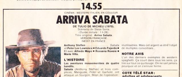 Arriva Sabata ( Reza por tu Alma … Y muere ) –1970-Tulio DEMICHELI Img_0010
