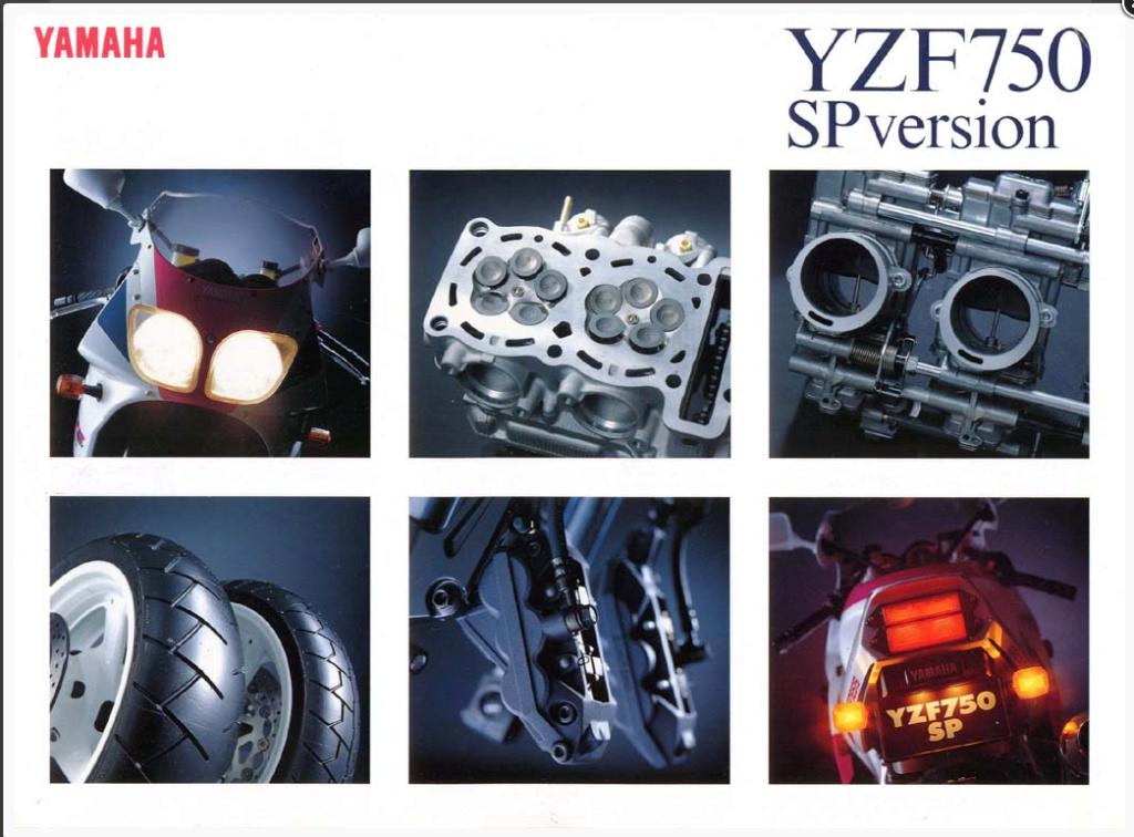 YAMAHA YZF 750 SP !!! 0110
