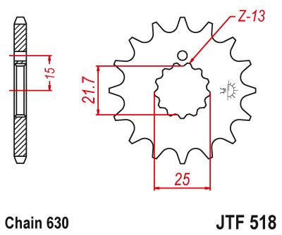 deport pignon Jtf51810