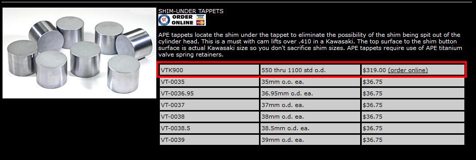 Réfection moteur Z1000, besoin d'aide  - Page 2 Tappet10