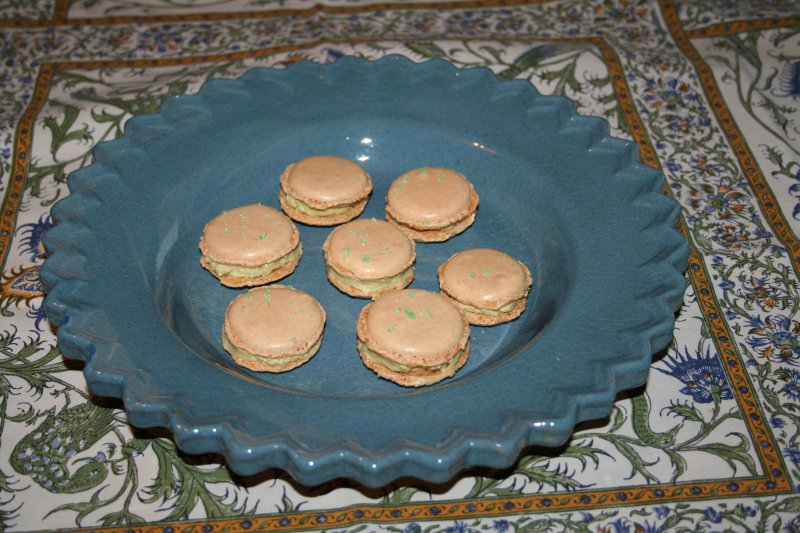 Une recette de macarons assez facile Macaro10