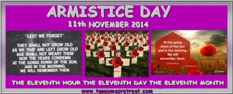 Remembrance Sunday 9th November - Remembrance Day 11th November Tanoom10