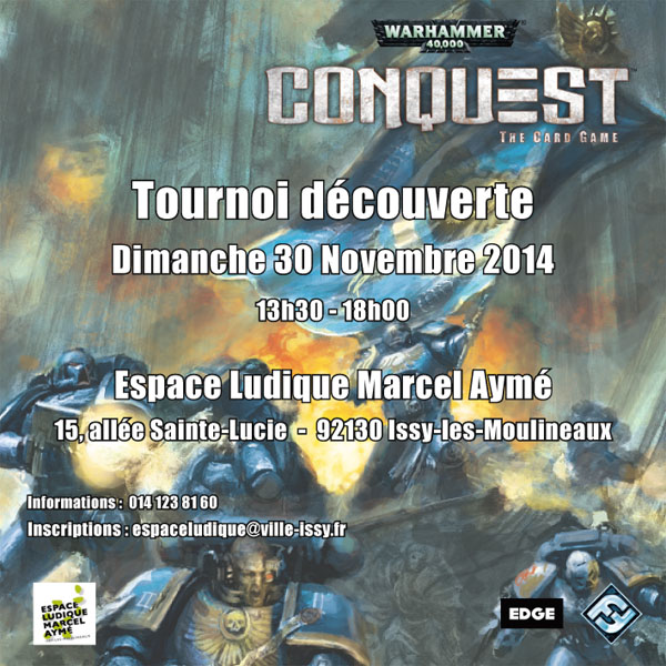 [Issy] Initiation et tournoi de Warhammer 40000 Conquest Tourno11