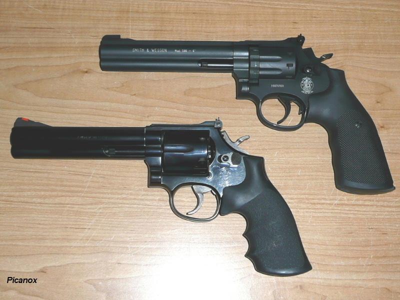 "Le ""vrai"" Smith & Wesson 586, à air... Compsw10"