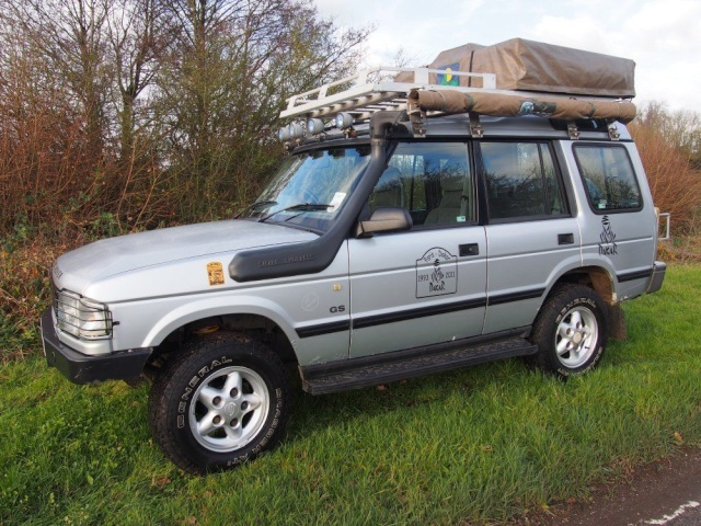 Discovery 1 + roof tent, awning, alloy roof rack Disco_11
