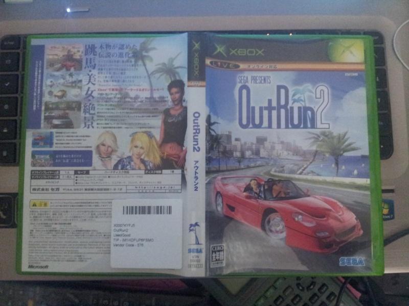 [VDS] Outrun 2 xbox NTSC/J Street Fighter Anniversary PAL 20141122