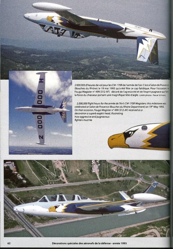 DECORATIONS SPECIALES des Aéronefs de la Défense. 1972 - 1999 0071010