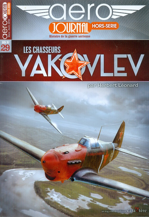 LES CHASSEURS YAKOVLEV Aéro-Journal HSn°29  Numzor15