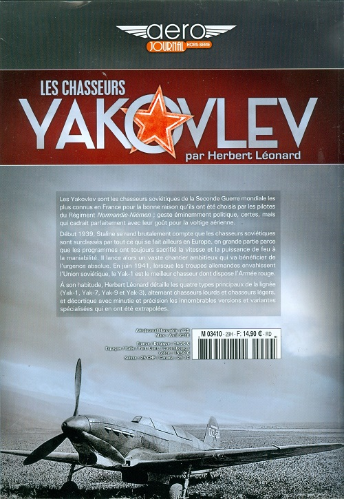 AERO-JOURNAL n°HS29 LES CHASSEURS YAKOVLEV  Numzor20