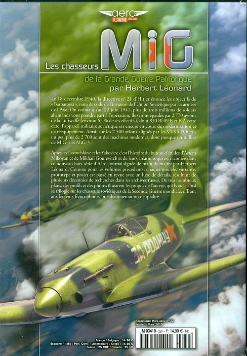 LES CHASSEURS MIG Aéro-Journal HSn°32 Numzor25