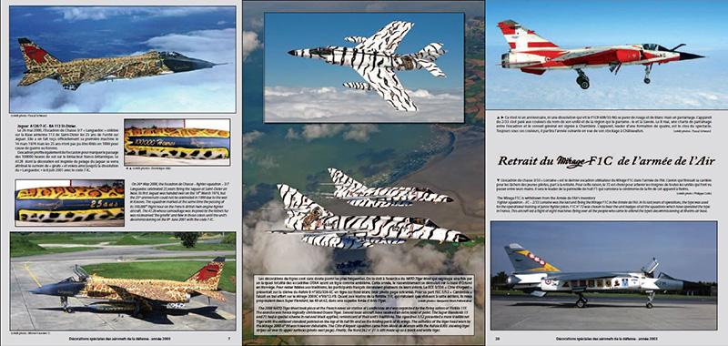 DECORATIONS SPECIALES des Aéronefs de la Défense.  2000 - 2011 Sans-t11