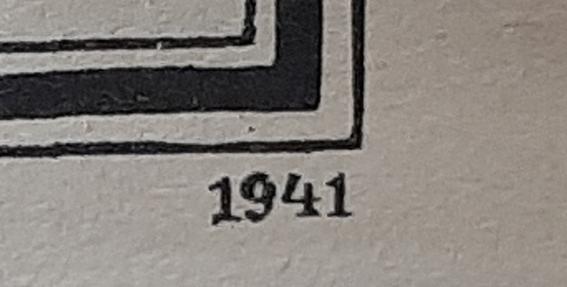 carte europeennne de 1941 éditée en Allemagne 20200523
