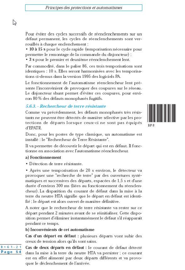 méthodes de localisation de défaut sur schéma unifilaire des départ hta 2014-112