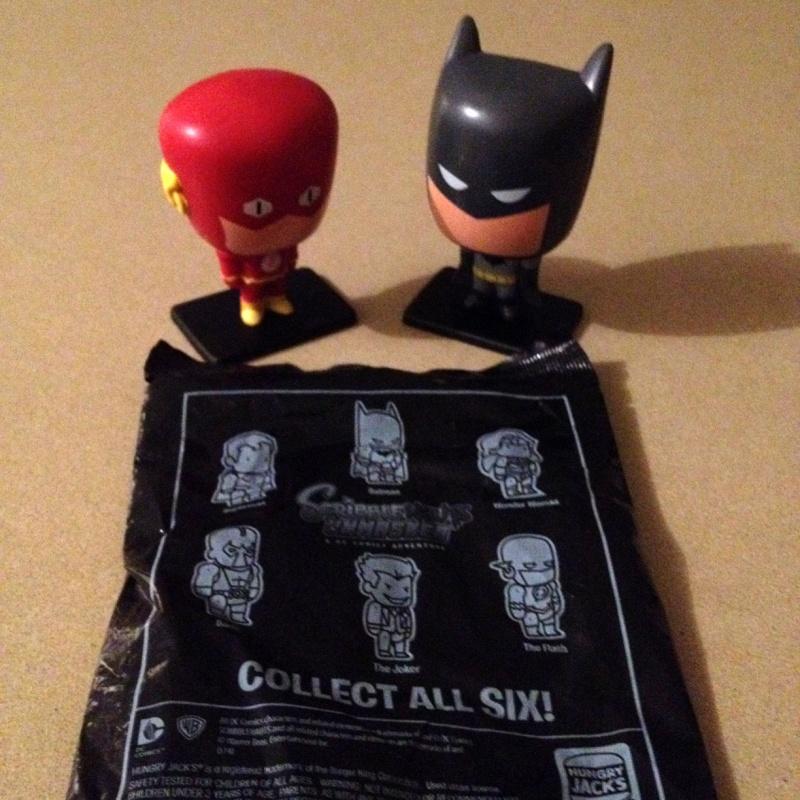 Scribblenauts Unmasked Blind Bag Figures @Hungry Jack's Hj10