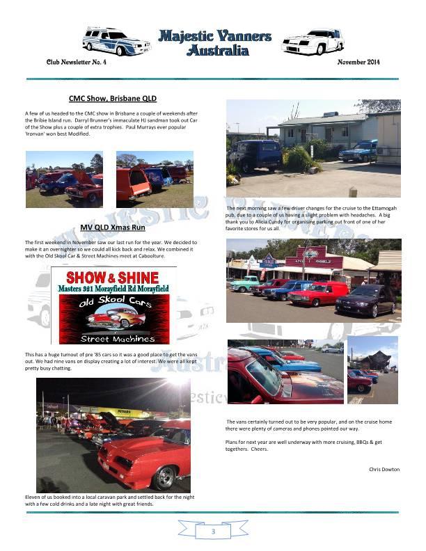 Majestic Vanners Newsletter No.4 November 2014 Mv_new12