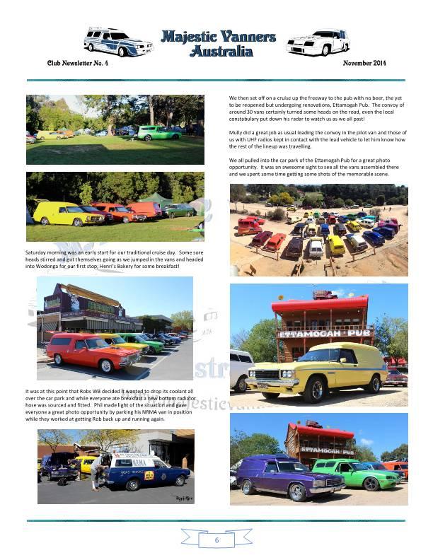 Majestic Vanners Newsletter No.4 November 2014 Mv_new15