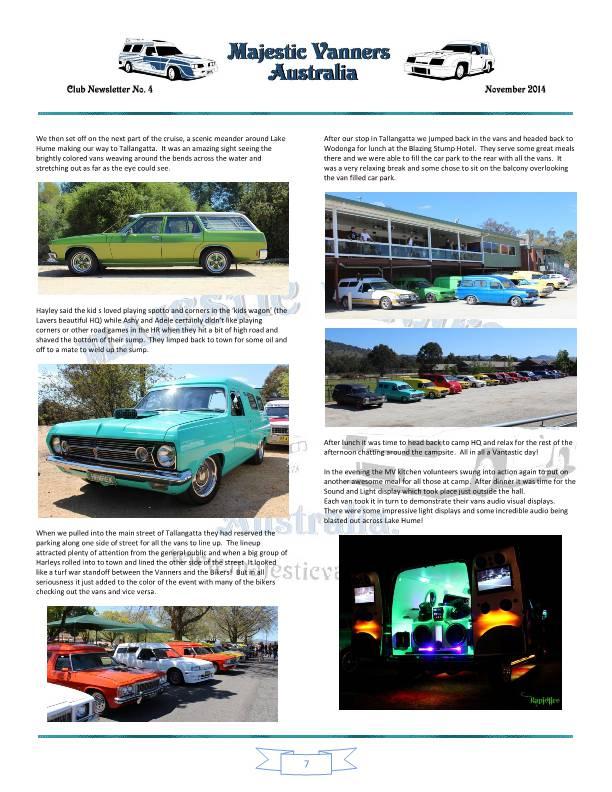 Majestic Vanners Newsletter No.4 November 2014 Mv_new16