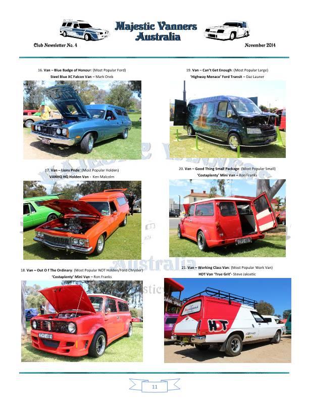Majestic Vanners Newsletter No.4 November 2014 Mv_new20