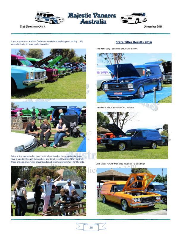 Majestic Vanners Newsletter No.4 November 2014 Mv_new30