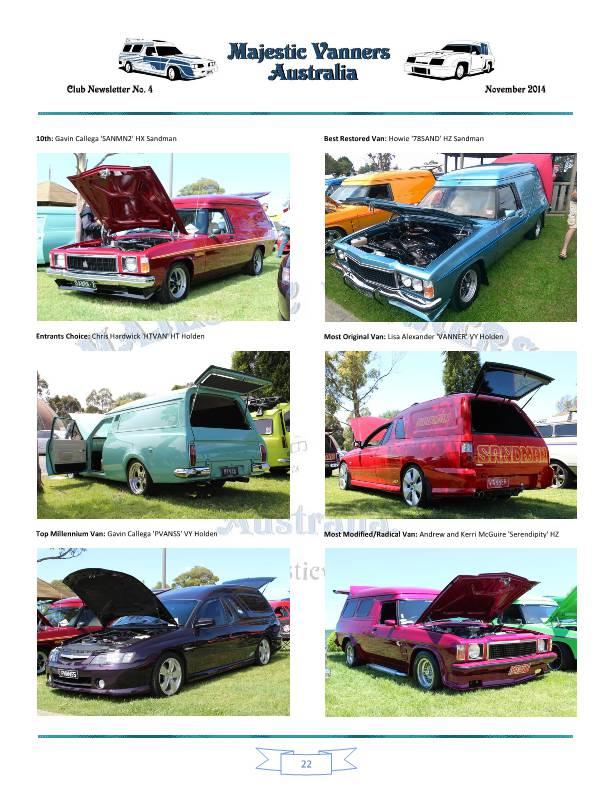 Majestic Vanners Newsletter No.4 November 2014 Mv_new32