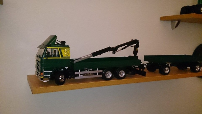 Italeri Scania Baustofflaster 10434010