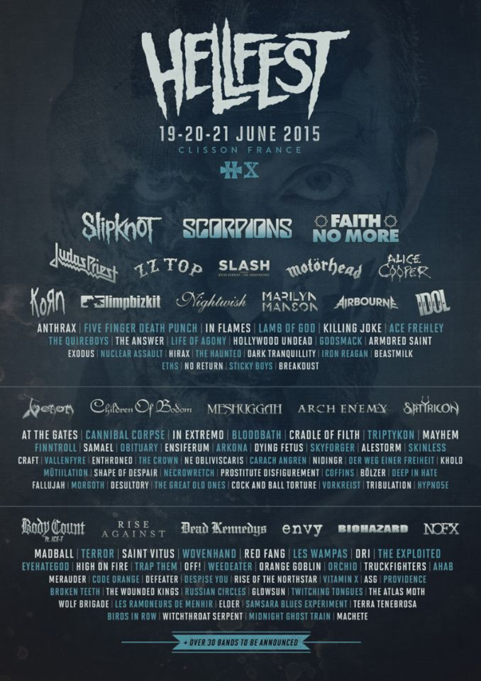Vallenfyre will be performing at the Hellfest 2015 ( France ) 10407510